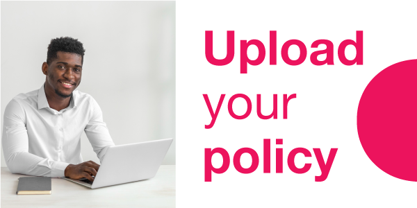 Upload your policy and switch to MiWay