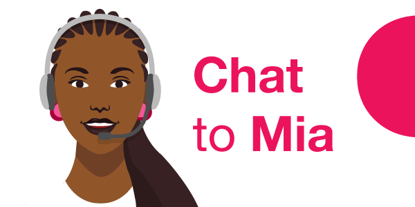 Chat to Mia - MiWay's very own virtual agent